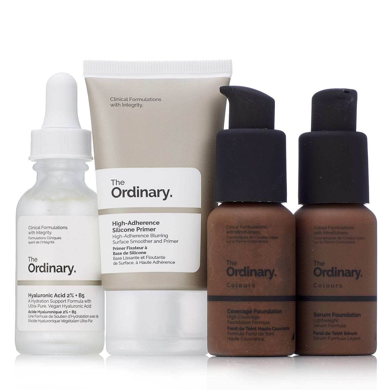 991b820c3a3 The Ordinary 4 Piece Foundation Collection - QVC UK