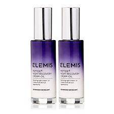 Elemis Peptide4 Night Recovery Cream-Oil 30ml Duo