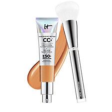IT Cosmetics Full Coverage SPF 50 CC+ Cream & Heavenly Skin Brush