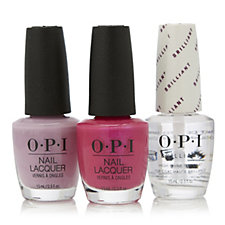 OPI Hot Polish Duo with Brilliant Top Coat