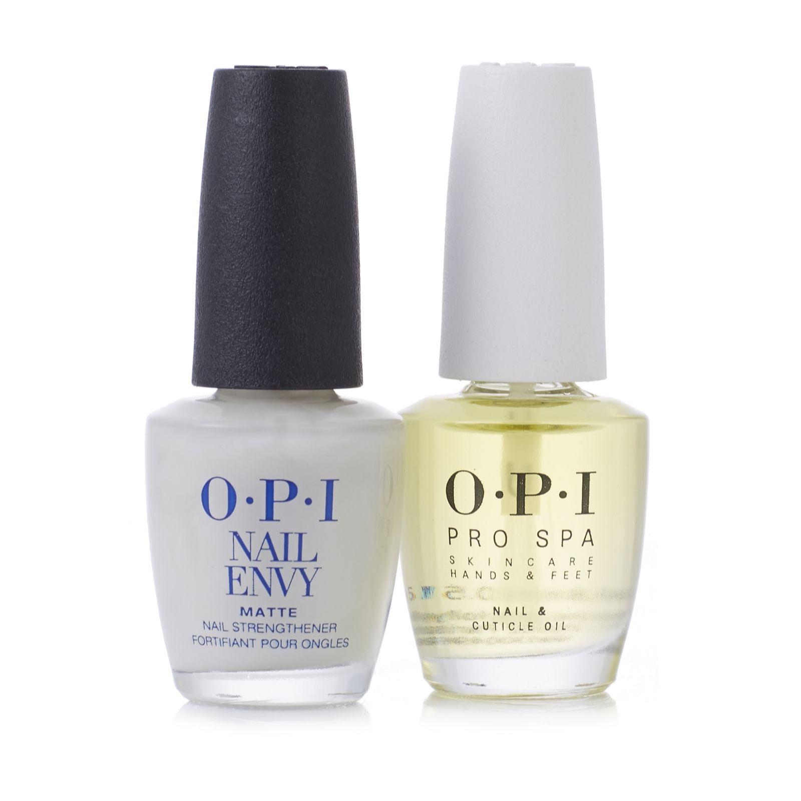 OPI Matte Nail Envy & ProSpa Oil - QVC UK