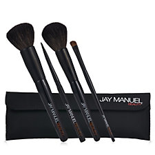 Jay Manuel Beauty Classic Brush Collection with Bag