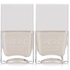 Nails Inc Collagen Ridge Filler Base Coat Duo