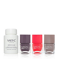Nails Inc 4 Piece Passionfruit Collection