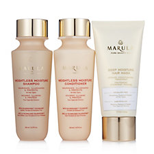 Marula Shampoo Conditioner & Deep Moisture Hair Mask