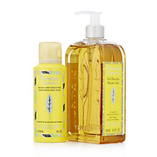 L'Occitane Citrus Verbena Shower Gel 500ml & Body Foam 150ml