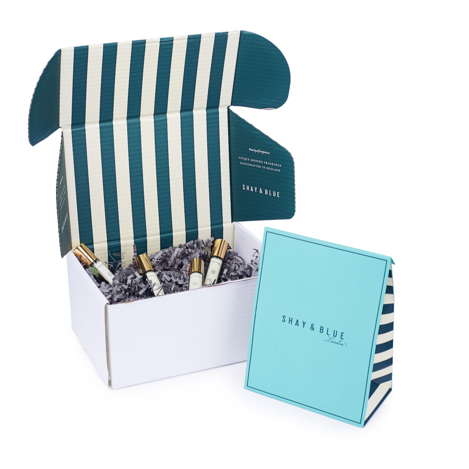 Shay & Blue 4 Piece Summer Fragrance Collection - QVC UK