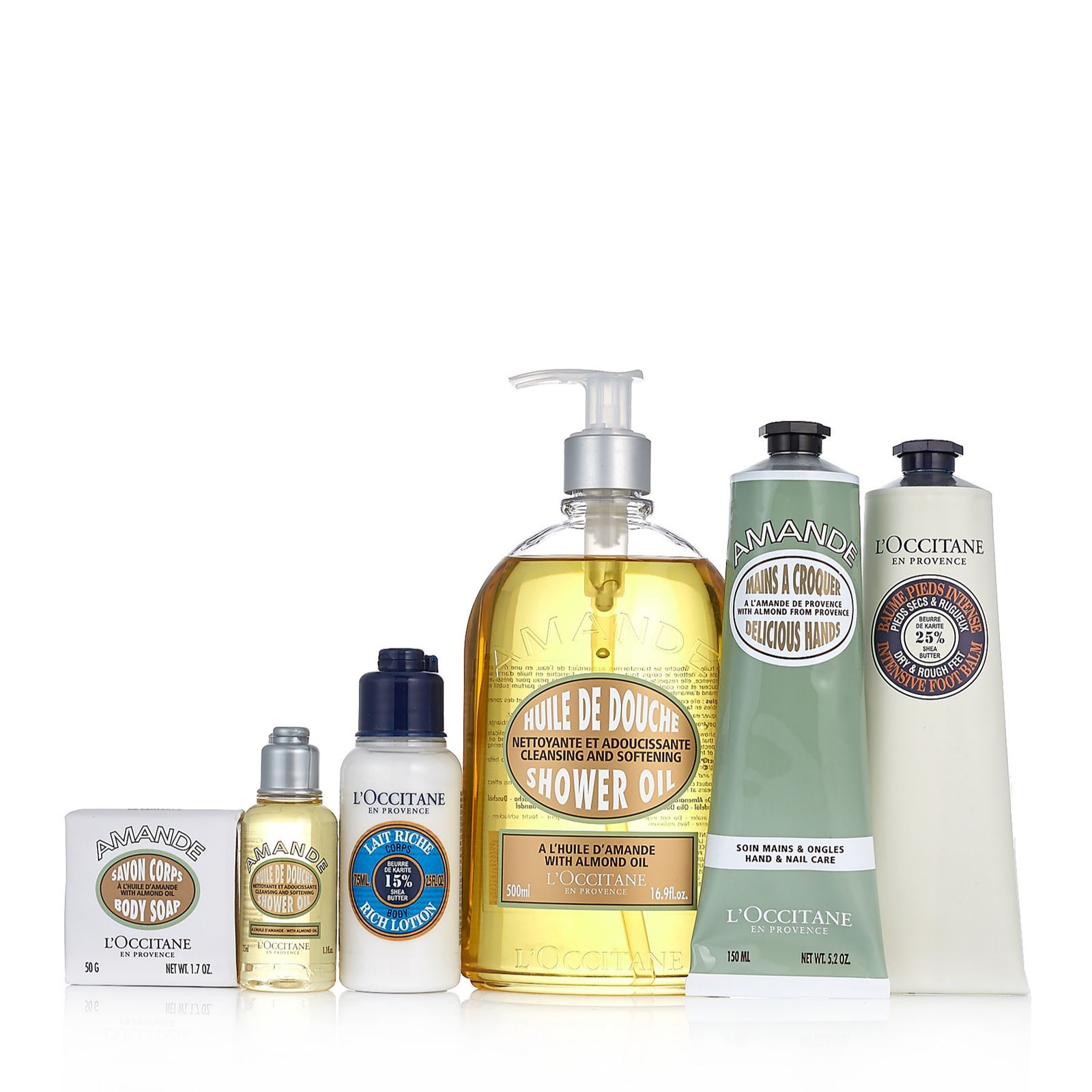 be62f2ad09 L Occitane 6 Piece Gift Of Giving Bath   Body Collection - QVC UK