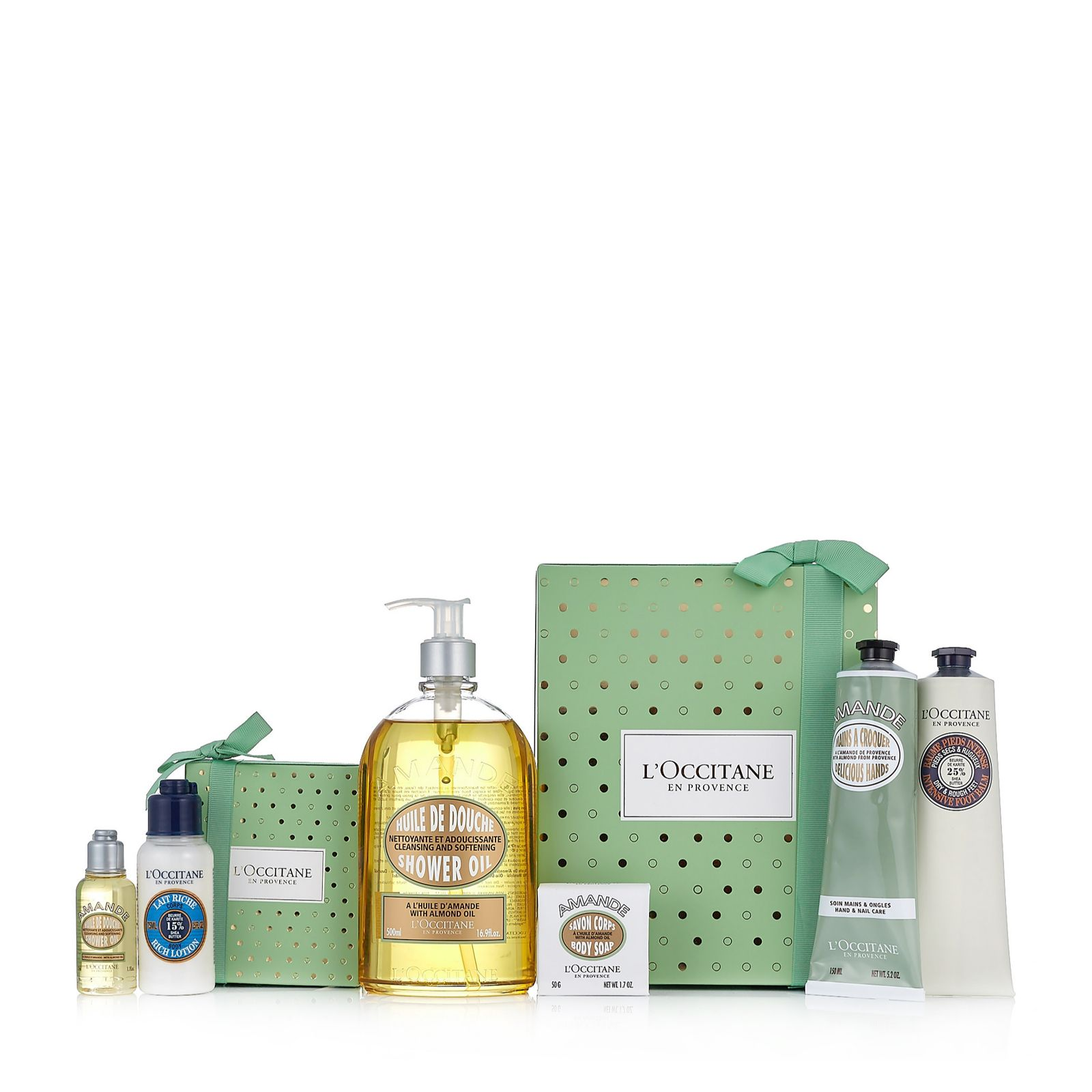 LOccitane 6 Piece Gift Of Giving Bath Body Collection