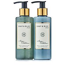 Shay & Blue Atropa Belladonna Body & Hand Wash & Lotion Duo