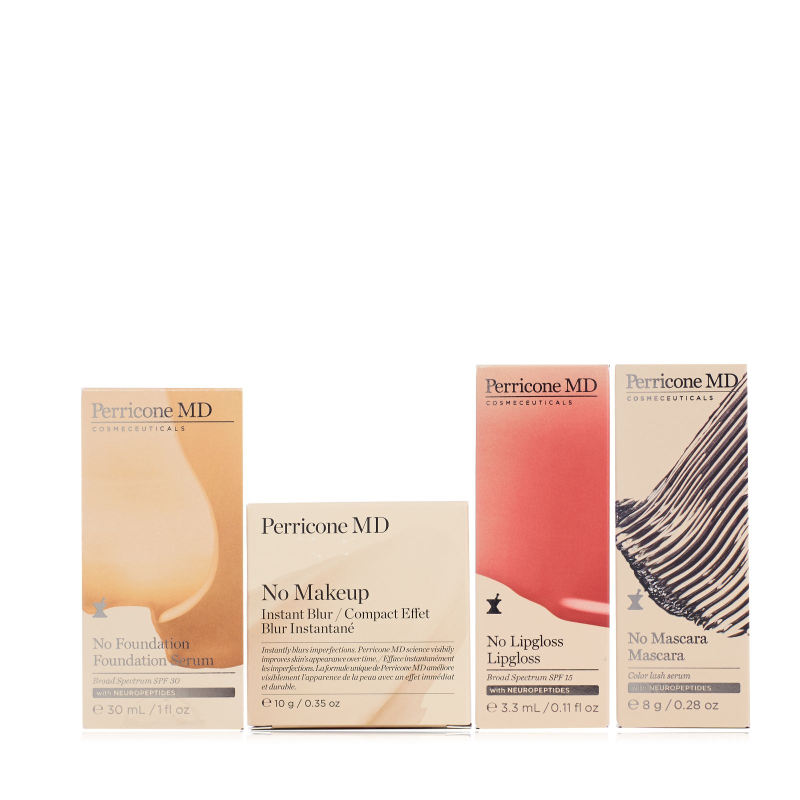 Perricone 4 Piece No Make Up Make Up Collection