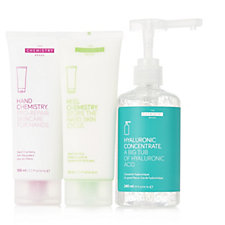 The Chemistry Brand Hand, Heel & Hyaluronic 3 Piece Set