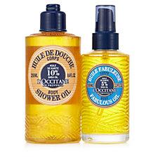 L'Occitane 2 Piece Shea Shower Oil & Fabulous Oil