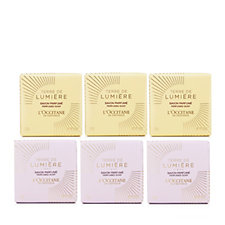 L'Occitane 6 Piece Terre De Lumiere Soap Collection
