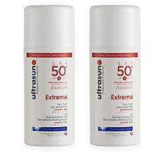 Ultrasun Sun Protection Extreme SPF 50+ 100ml Duo
