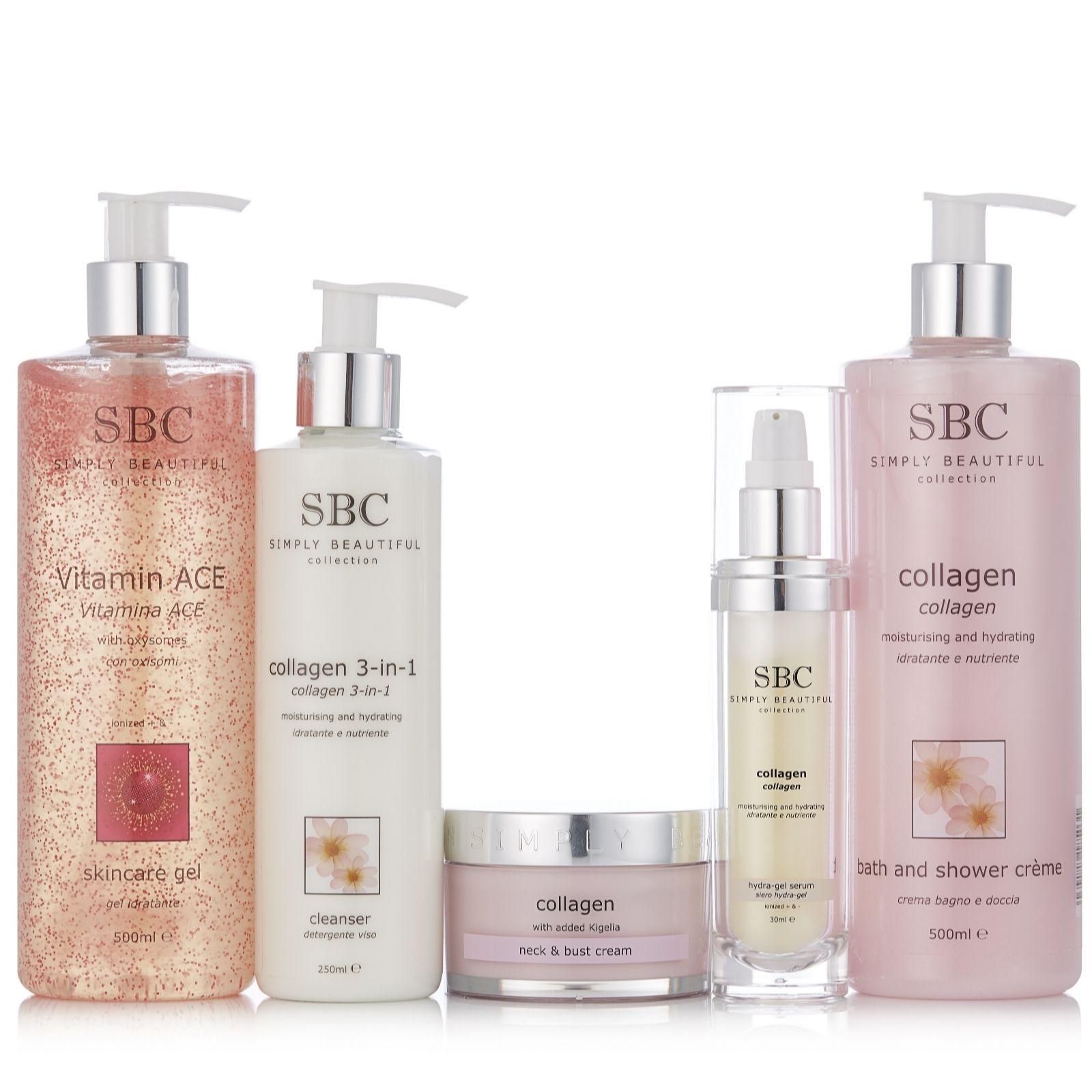 Sbc 5 Piece Collagen Skincare Collection Page 1 Qvc Uk Colagen Soap 3pcs