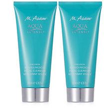 M. Asam Aqua Intense Hyaluron Cleansing Gel 200ml Duo