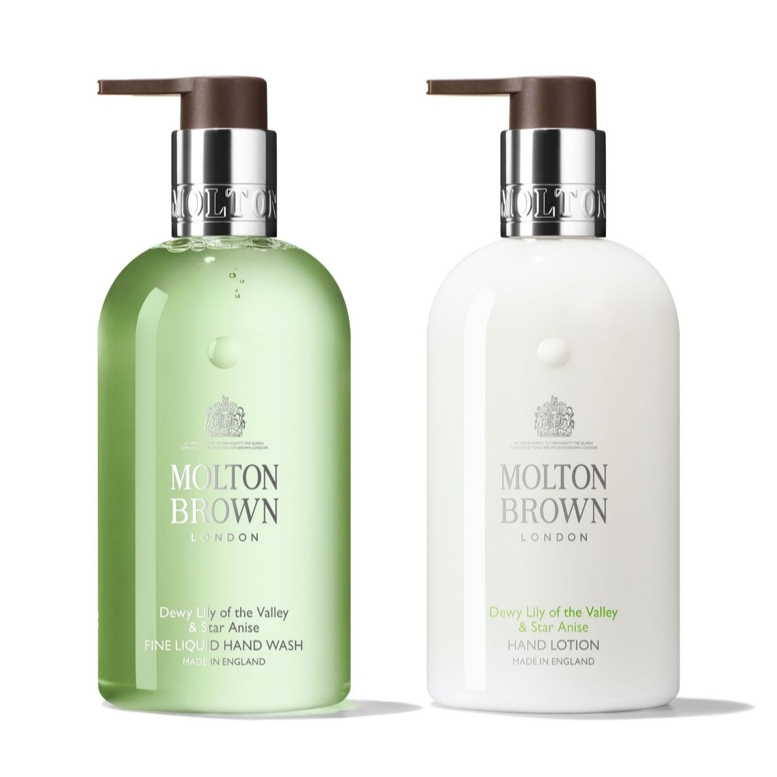 37c77747724ca Molton Brown Dewy Lily of the Valley   Star Anise Exquisite Hand Care Duo  300ml - QVC UK