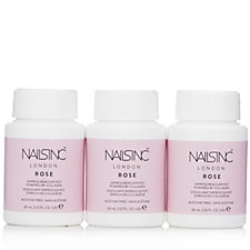 236191 - Nails Inc Rose Fragrance Nail Polish Remover With Collagen Trio