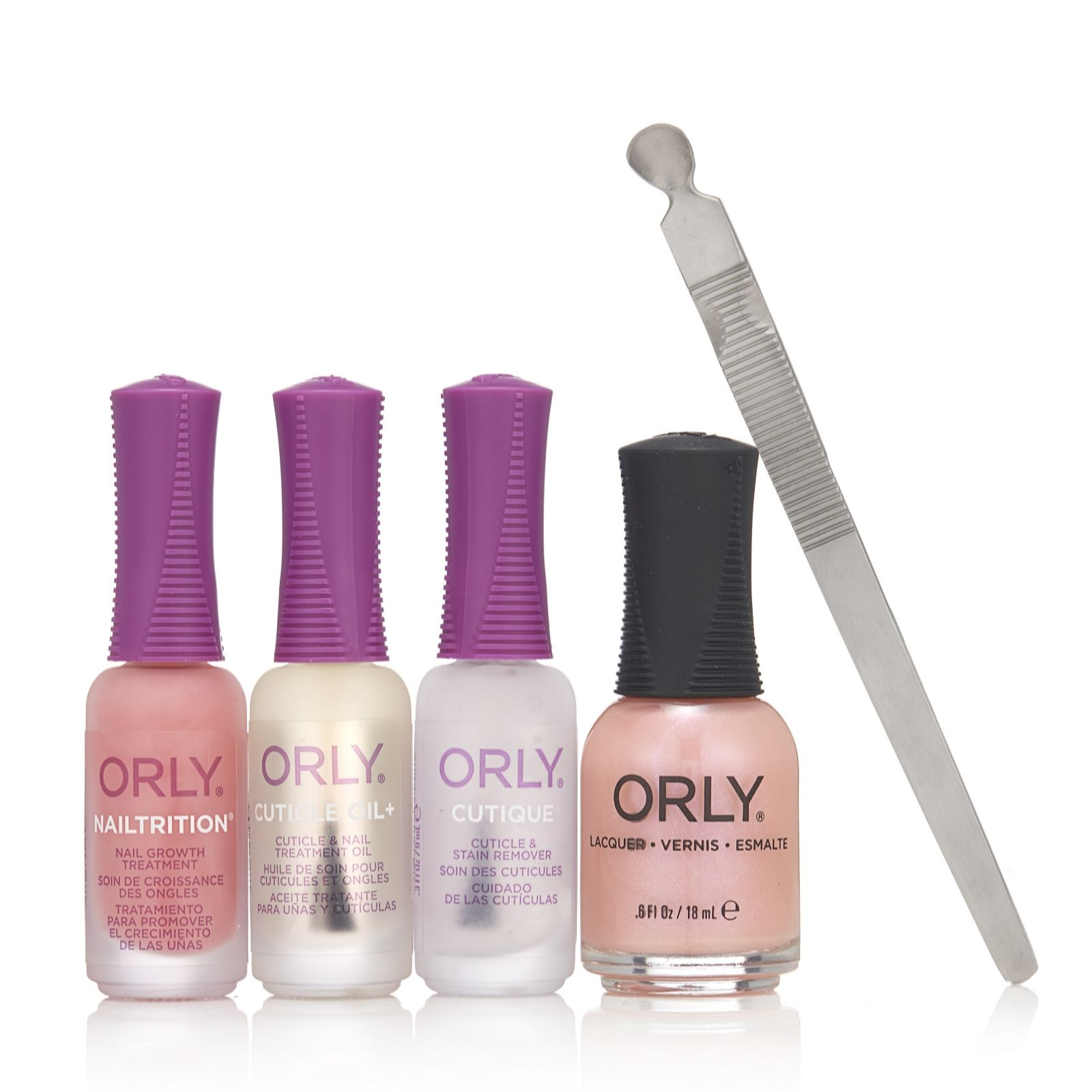 Orly 5 Piece New Nail Collection - QVC UK