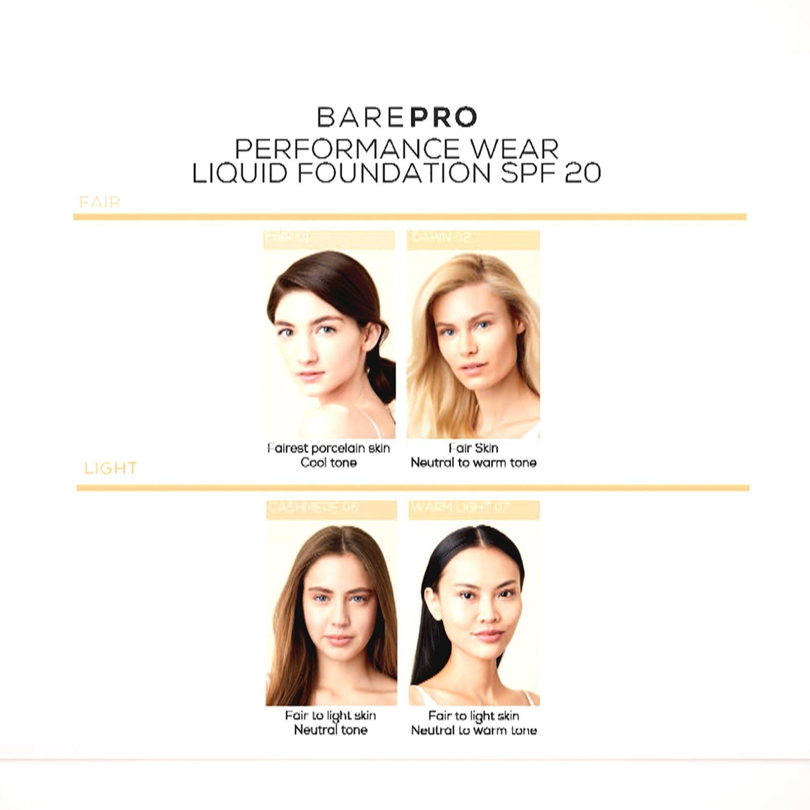 6de820ecb3c Bareminerals Barepro Performance Wear Liquid Foundation & Brush - QVC UK