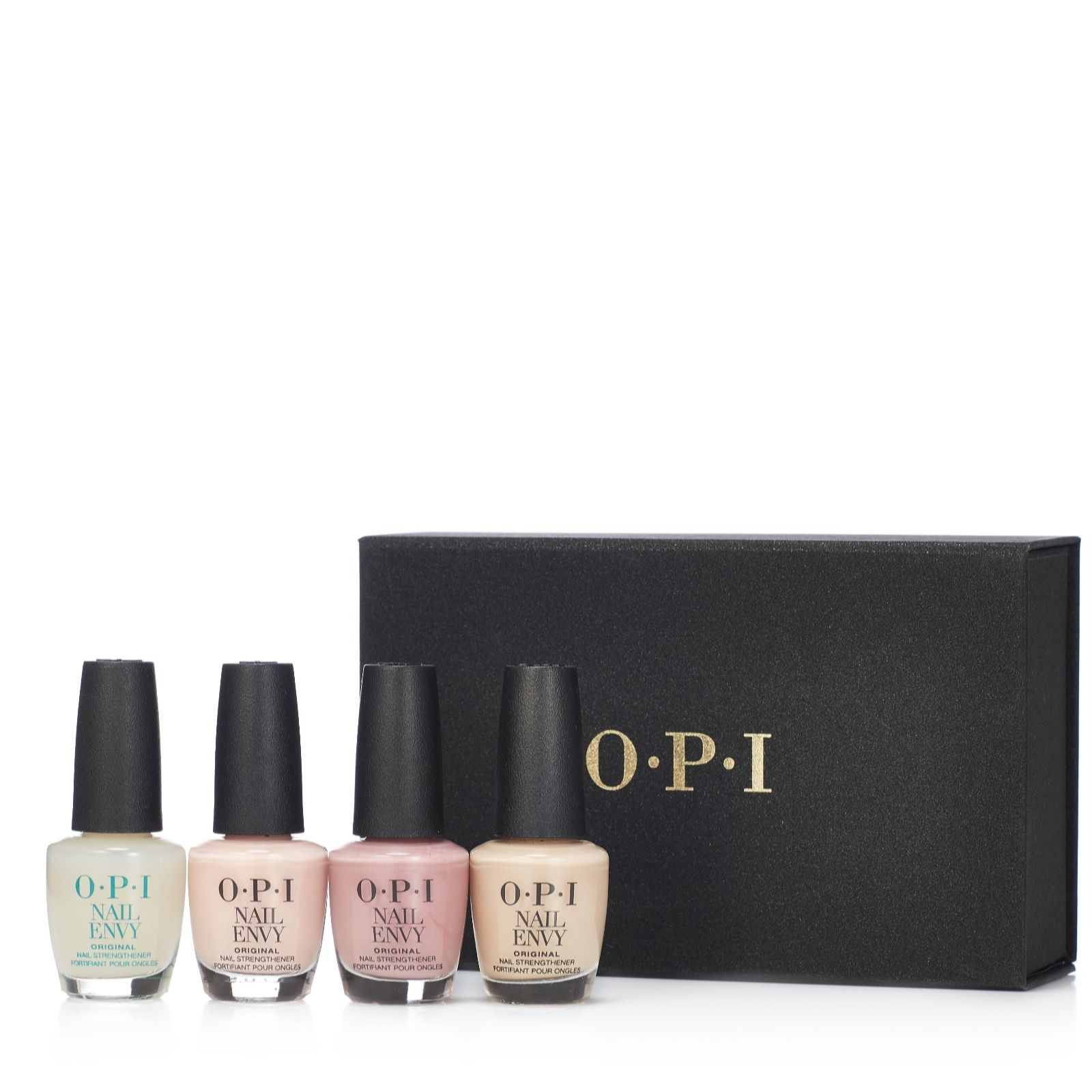 OPI 4 Piece Nail Envy Wardrobe In Gift Box - QVC UK