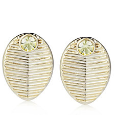 Princess Grace Collection Grain de Cafe Wedding Gift Earrings