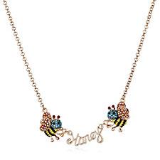 Butler & Wilson Honey Bee 42cm Necklace