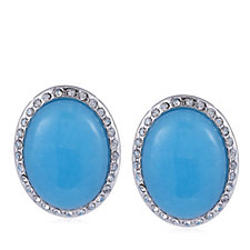 Roberto by RFM Positano Resin Cabochon Earrings