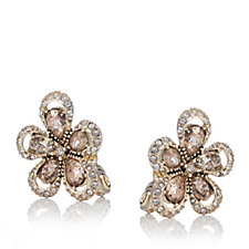 Anne Klein Natural Blossoms Clip On Earrings
