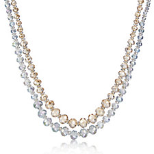 Buckley London Set of Two Crystal 41cm Necklaces