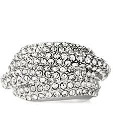 Loverocks Crystal Layer Ring