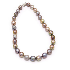 310017 - Honora 11-14mm Cultured Ming Pearl 45cm Necklace Sterling Silver