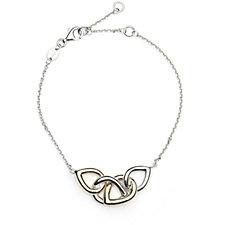 Links of London Linked Drop 19cm Bracelet Sterling Silver
