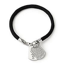 Outlet Stella Valle Dog Tag Bracelet Lori Greiner