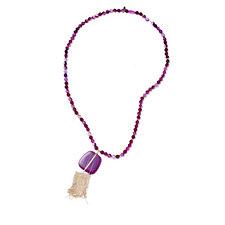 Lola Rose Boutique Bassa Semi Precious 92cm Necklace