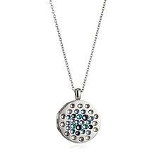 Aurora Swarovski Crystal Scatter Stone Locket 74cm Necklace