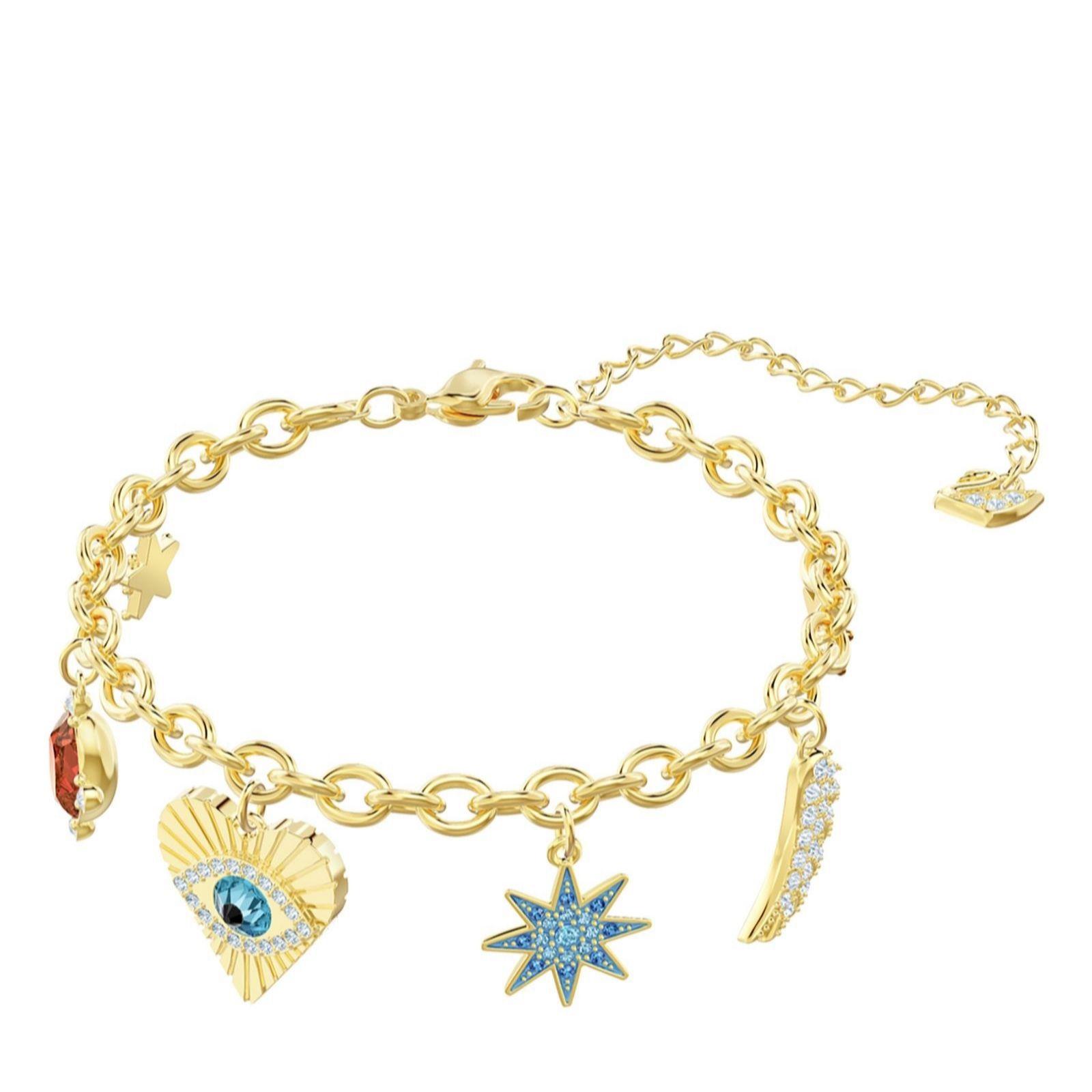 03f09b6eeea29 Swarovski Lucky Goddess Bracelet - QVC UK