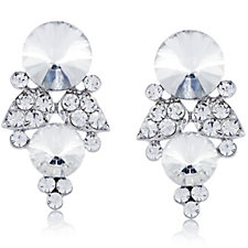 Loverocks Multi Stone Stud Earring