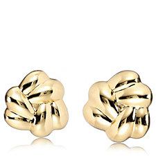 Elizabeth Taylor Knot Clip on Earrings