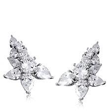 Elizabeth Taylor 7.3ct tw Simulated Diamond Ear Climbers
