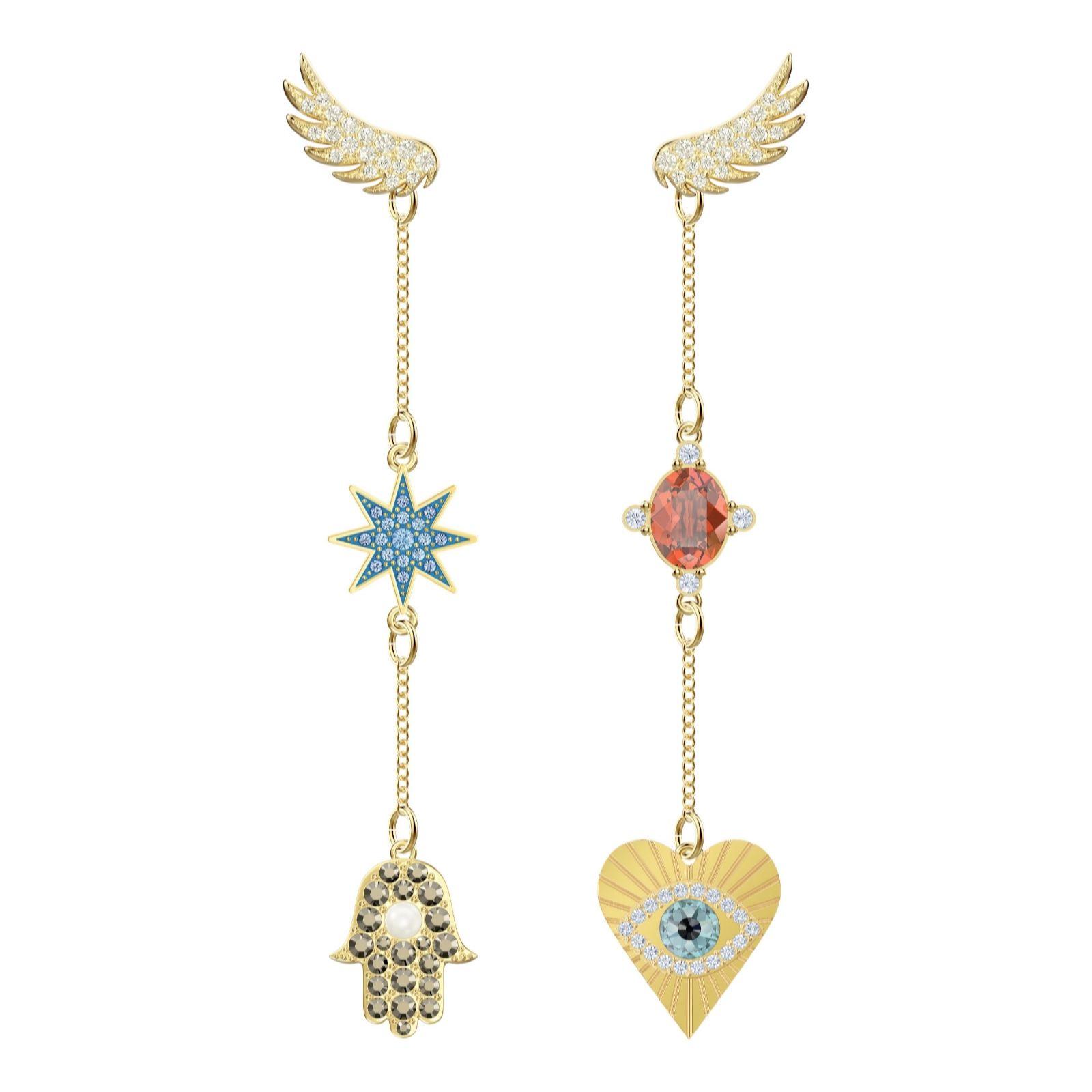 849cb8b3a5a7 Swarovski Lucky Goddess Earrings - QVC UK