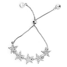 Loverocks Crystal Star Friendship Bracelet