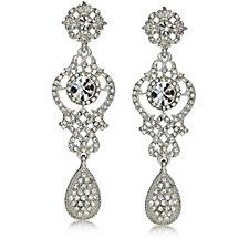 Loverocks Crystal Drop Statement Earrings