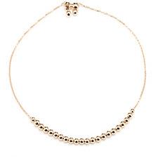 9ct Gold Beaded Friendship Bracelet