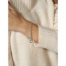 Thomas Sabo Charm Club 0.02ct Diamond 20cm Bracelet Sterling Silver
