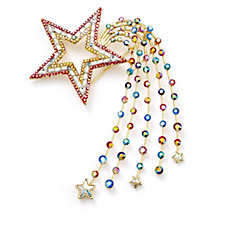 Butler & Wilson Couture Shooting Star Brooch