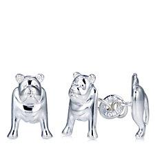 Links of London British Bulldog Cufflinks Sterling Silver