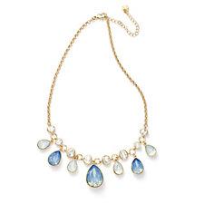 loveRocks Crystal Tear Drops 45cm Necklace