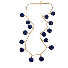 Fornash Fiesta Pom Pom 89cm Necklace